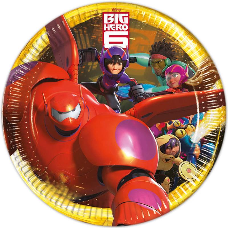 Big Hero 6 Papptallrikar