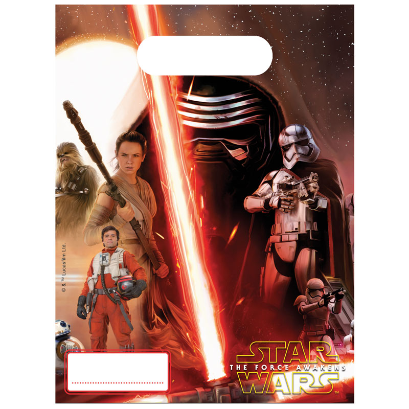 Star Wars The Force Awakens Kalaspåsar