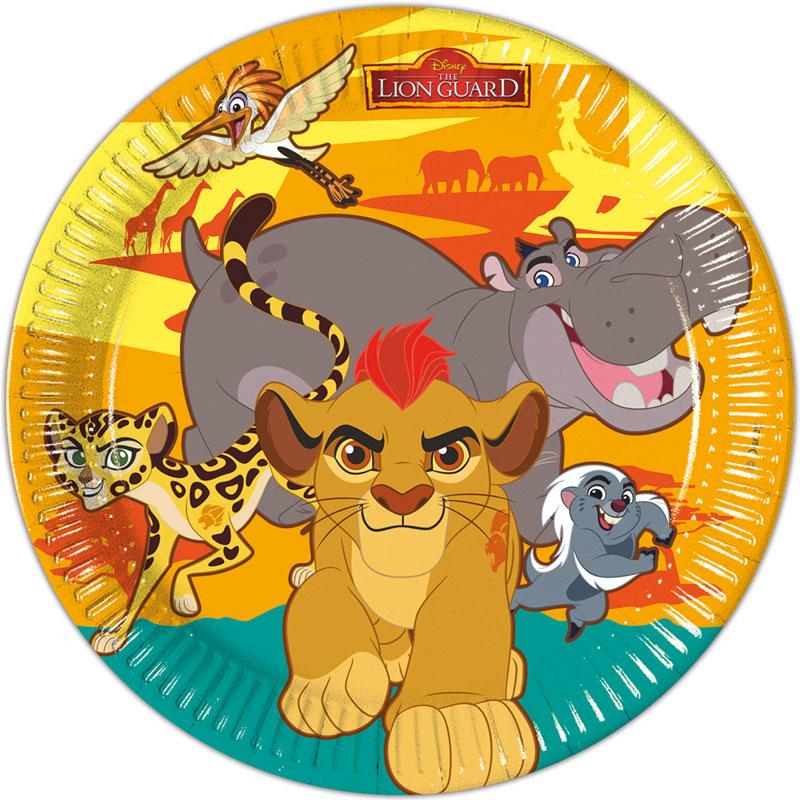 The Lion Guard Papptallrikar