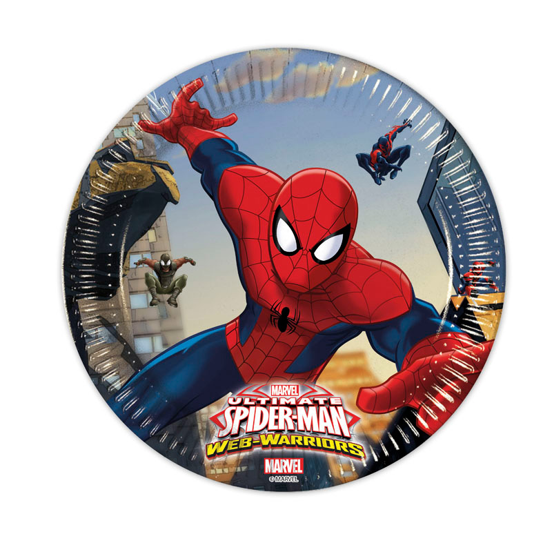 Ultimate Spider-Man Web Warriors Assietter
