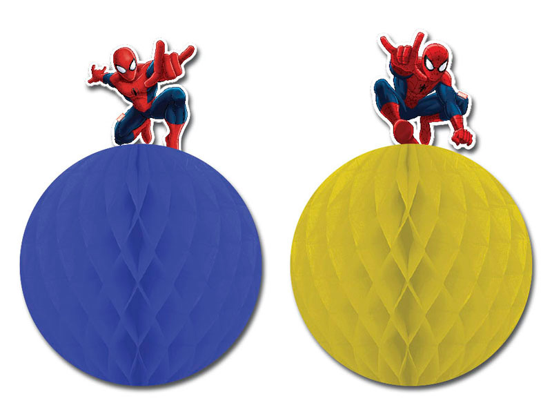 Ultimate Spider-Man Web Warriors Honeycombs Dekoration