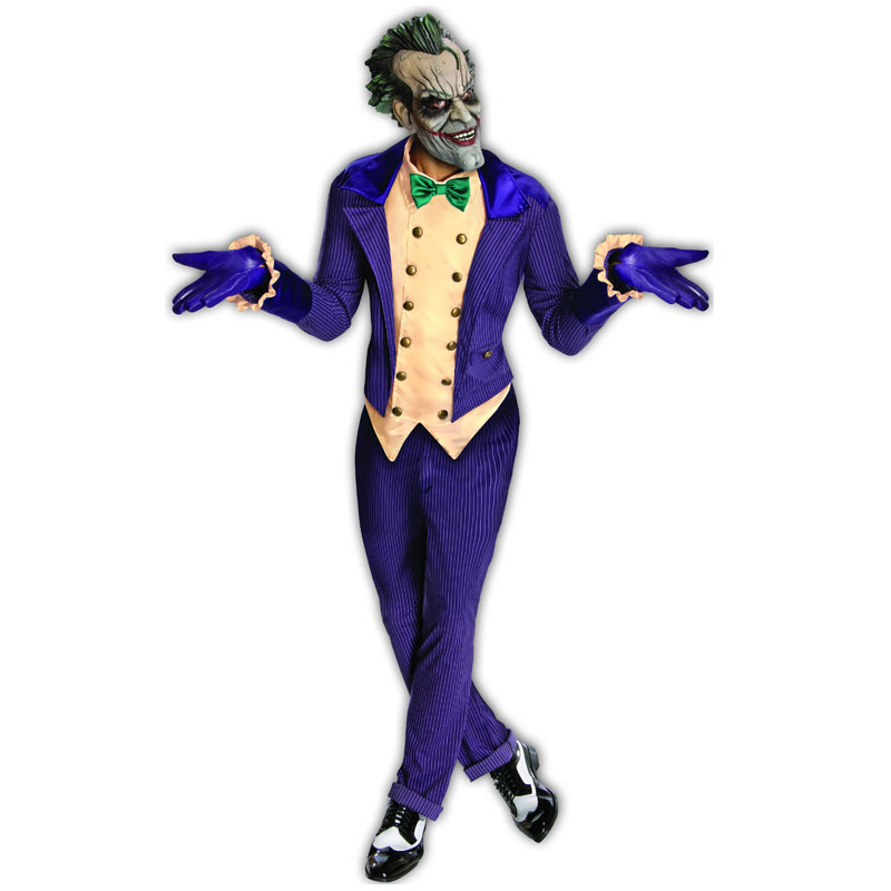 Arkham City Jokern Maskeraddräkt
