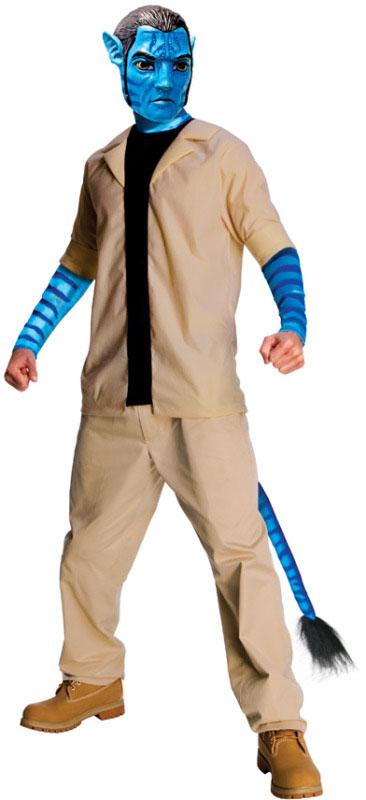 Avatar Jake Sully Maskeraddräkt (Standard)