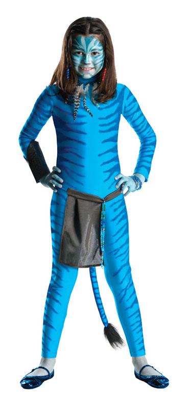 Avatar Neytiri Barn Maskeraddräkt (Small)