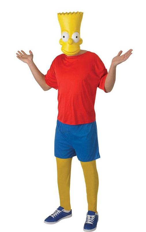 Bart Simpson Maskeraddräkt (Standard)