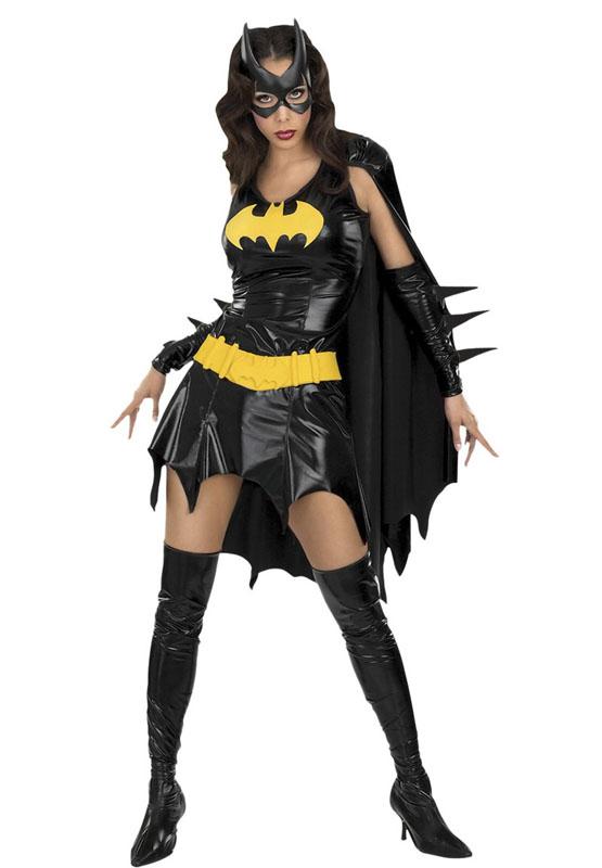 Batgirl Maskeraddräkt (X-Small (str. 34-36))