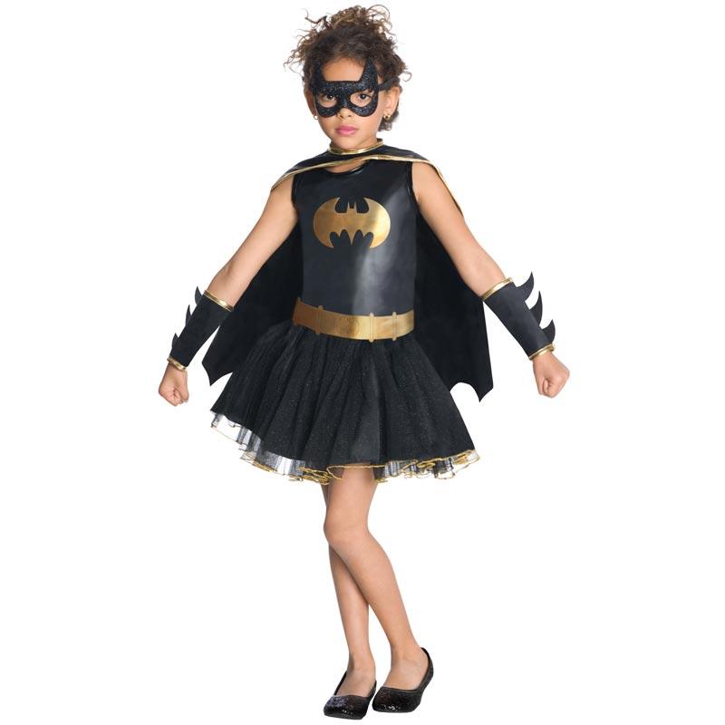Batgirl Maskeraddräkt Barn (Small)