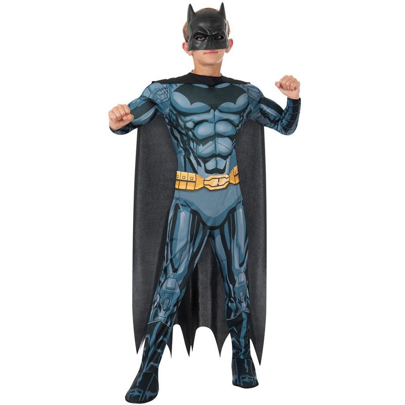 Batman Animerad Maskeraddräkt Barn (Small)