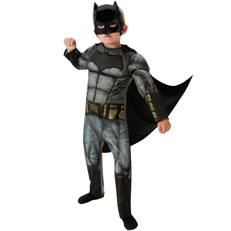 Batman Dawn of Justice Maskeraddräkt Barn Deluxe