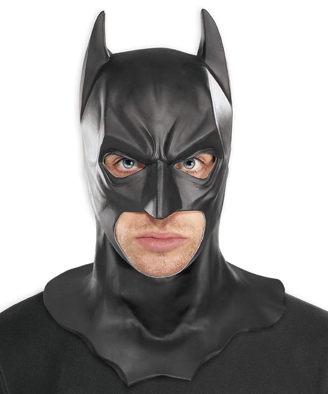 Batman The Dark Knight Rises Latex Mask