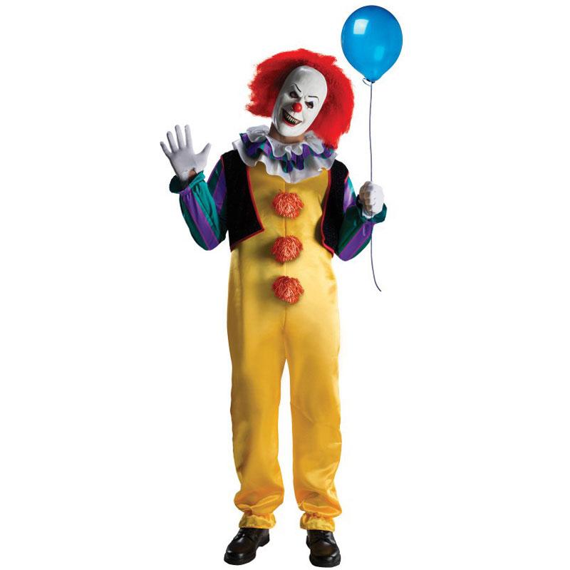 Clownen Det Maskeraddräkt (X-Small) thumbnail