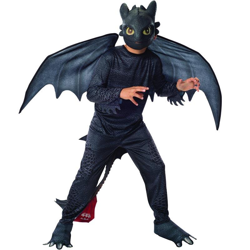 Draktränaren Tandlöse Barn Maskeraddräkt (Small)