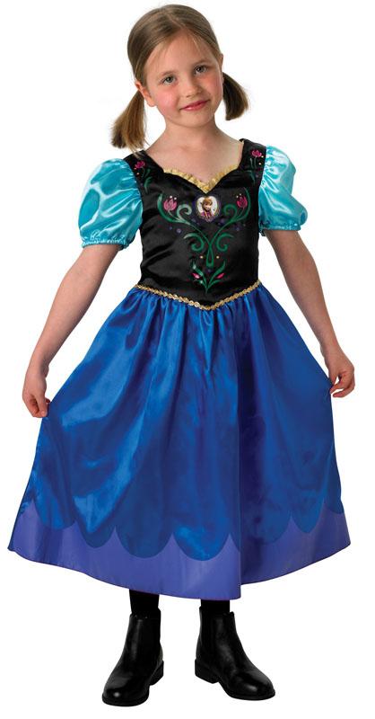 Frost Anna Barn Maskeraddräkt (Small (3-4 år))
