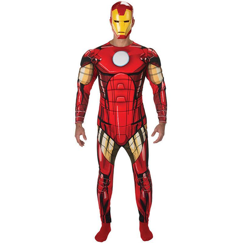 Iron Man Maskeraddräkt (Standard)