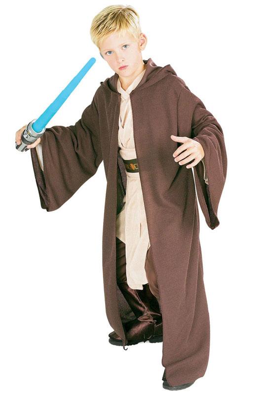 Jedi Deluxe Barn Maskeraddräkt (Small)