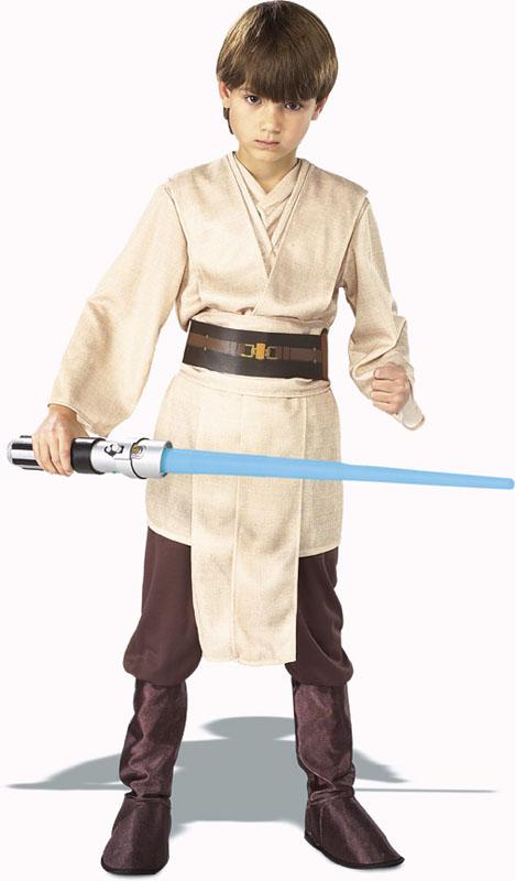 Jedi Knight Barn Maskeraddräkt Deluxe (Small)