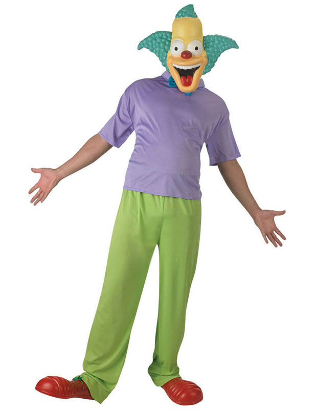 Krusty The Clown Maskeraddräkt