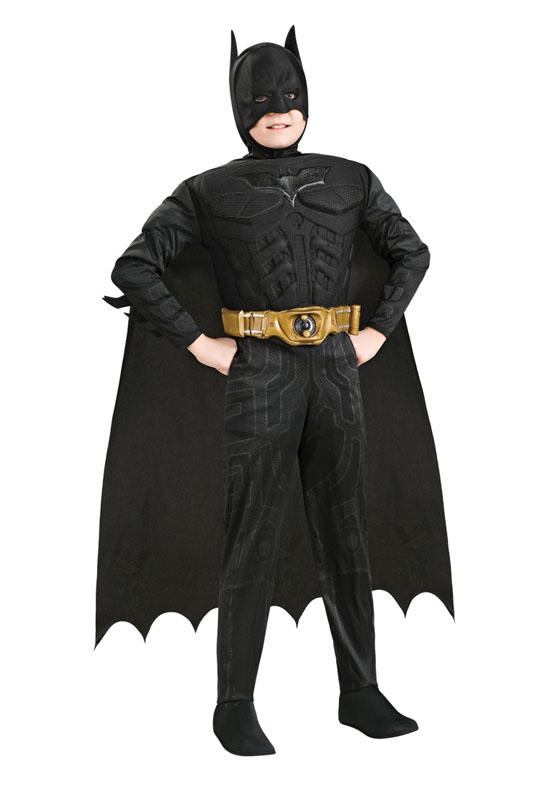 Muskulös Batman Barn Maskeraddräkt Deluxe (Small)