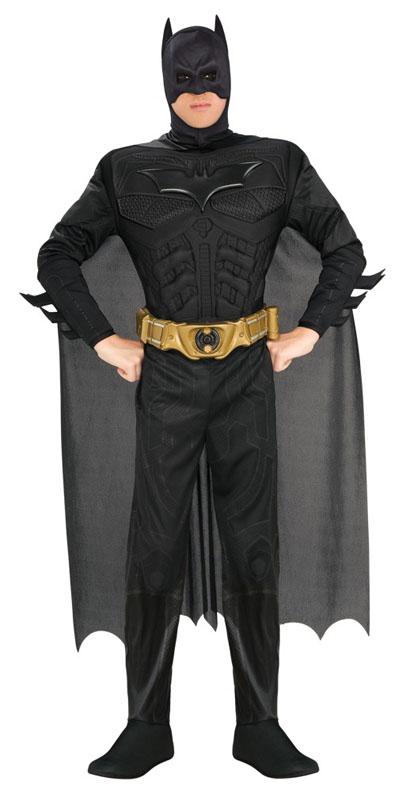 Muskulös Batman Maskeraddräkt (Small)