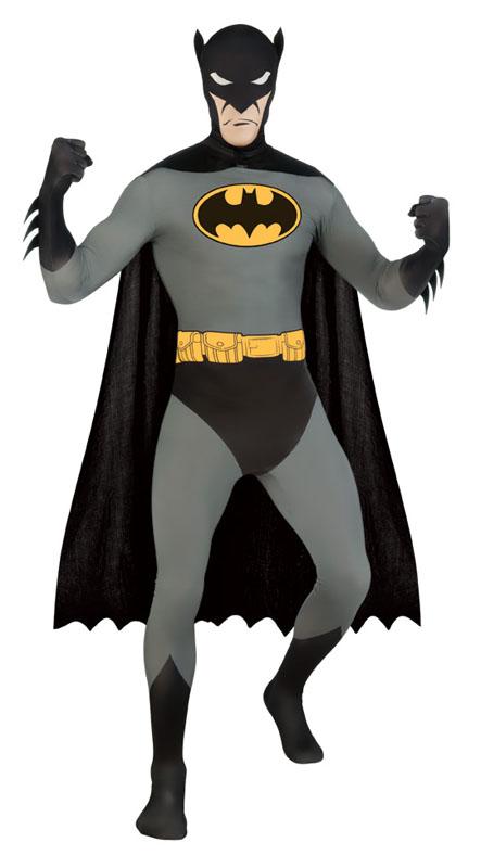 Second Skin Batman Maskeraddräkt (Medium)