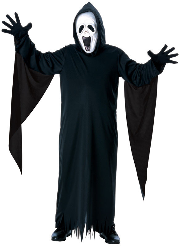 Skrikande Spöke Barn Maskeraddräkt (Small)