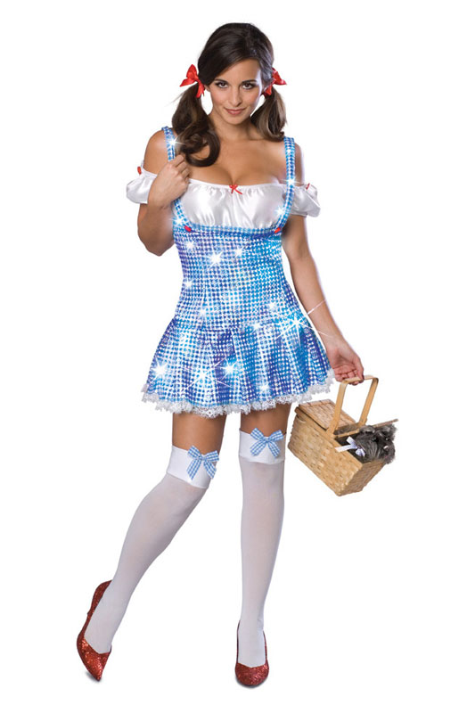Söt Dorothy Maskeraddräkt (X-Small)