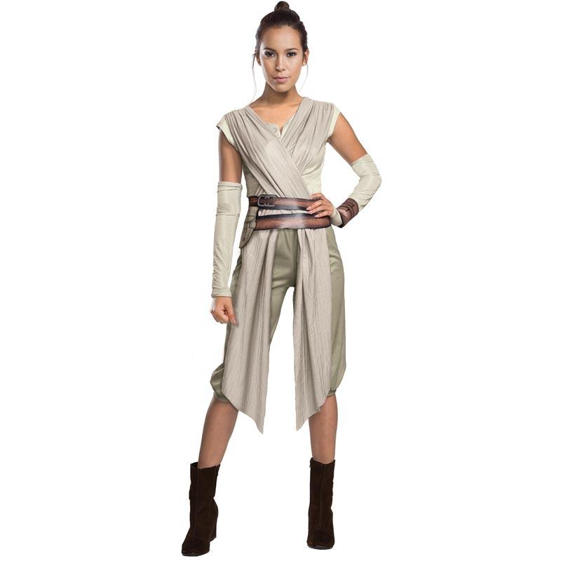Star Wars Rey Maskeraddräkt Deluxe (Small)