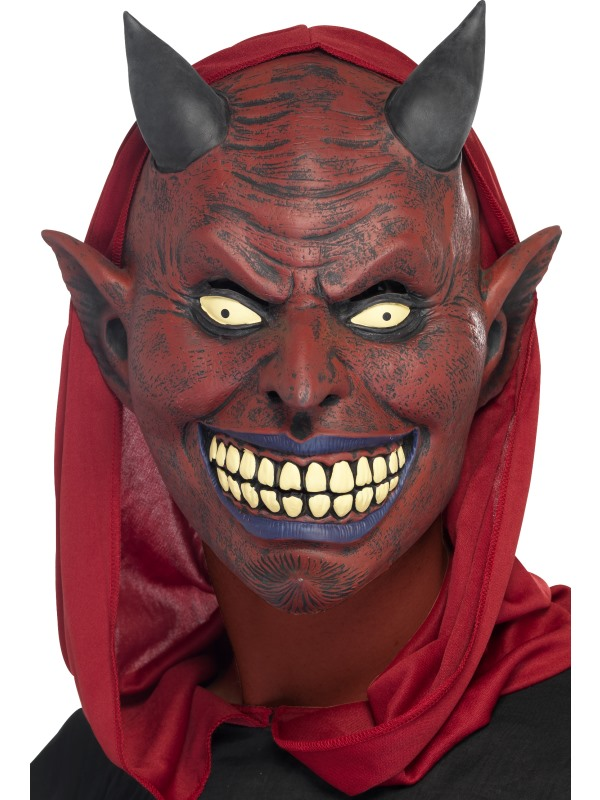 Djävul/Demon Latexmask