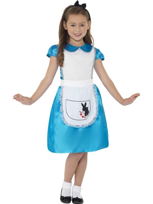 Alice i Underlandet Barn Maskeraddräkt (Small)