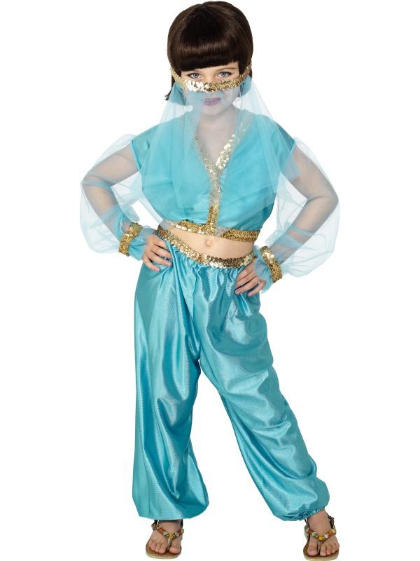 Arabisk Prinsessa Barn Maskeraddräkt (Medium)