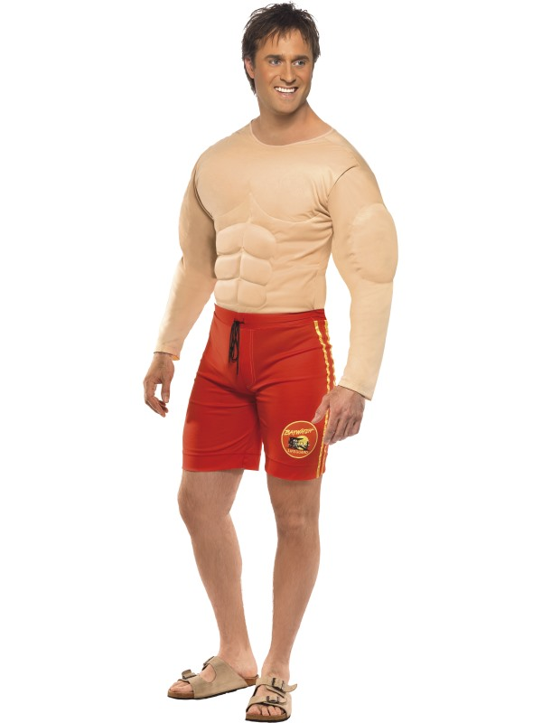 Baywatch Livvakt Maskeraddräkt (Medium)