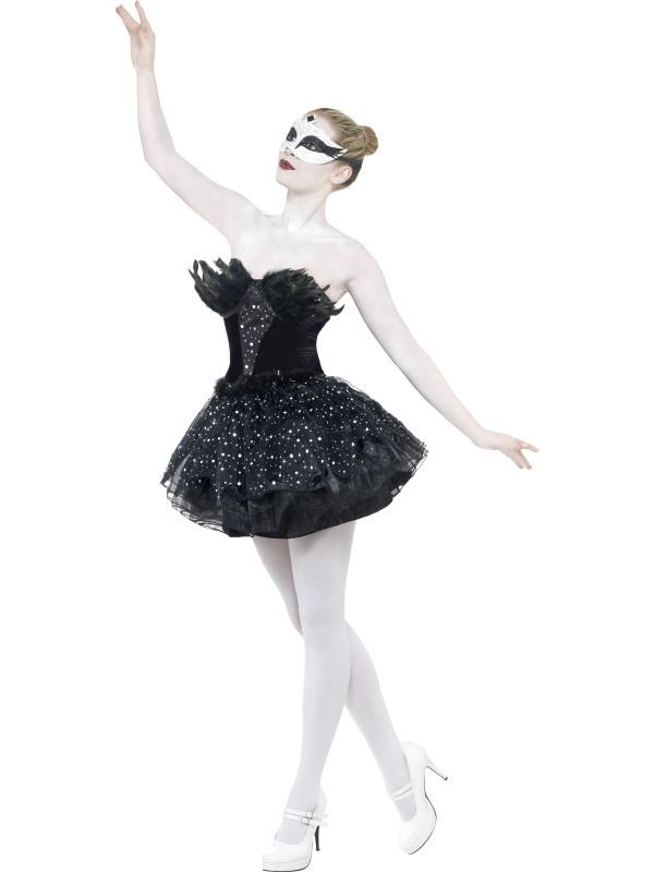 Black Swan Ballerina Maskeraddräkt (Small)