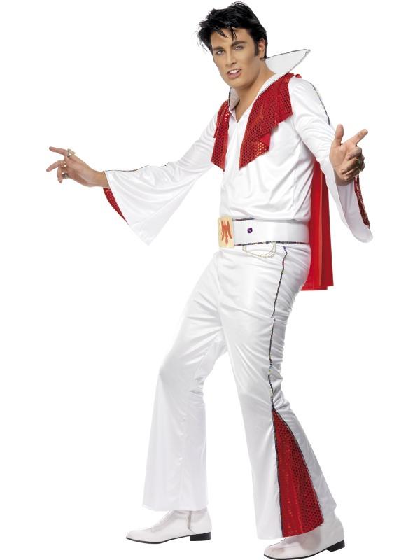 Elvis Kostym Maskeraddräkt (Medium)