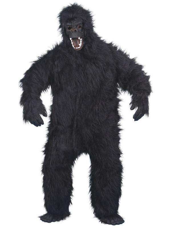 Rasande Gorilla Maskeraddräkt thumbnail