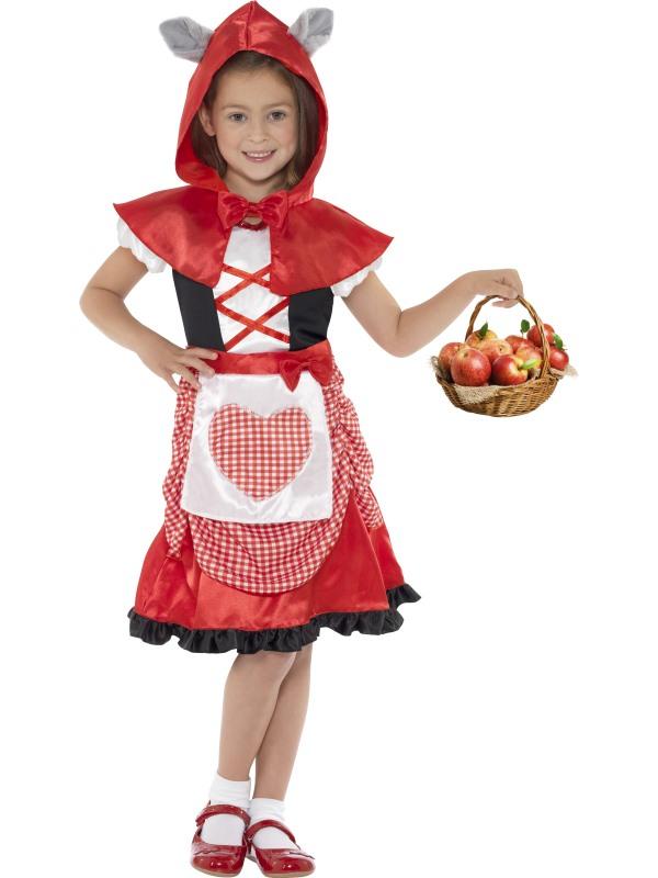 Rödluvan Barn Maskeraddräkt (Small)