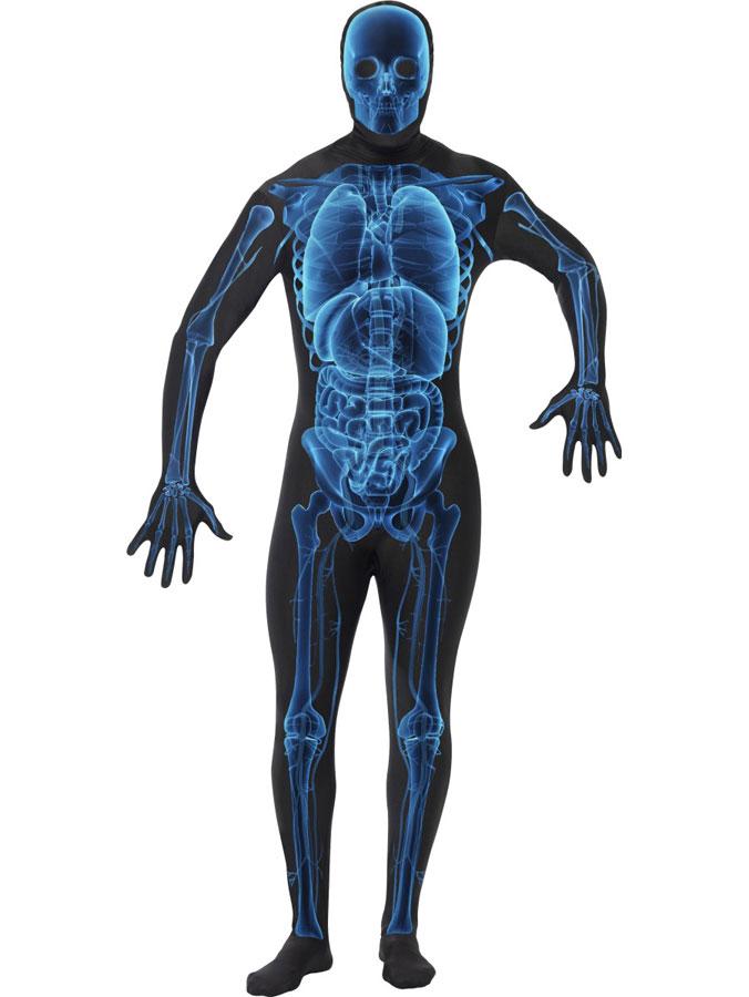 Second Skin X-Ray Maskeraddräkt