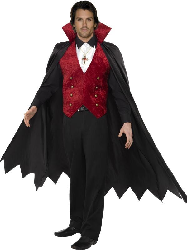 Vampyr Maskeraddräkt (Medium)