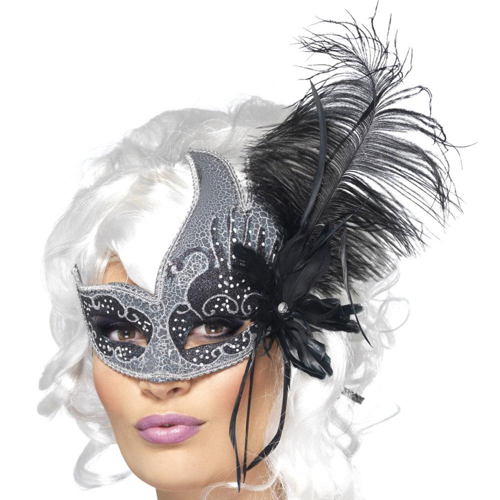 Venetiansk Mask Dark Archangel