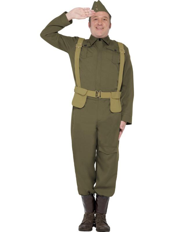 WW2 Hemvärn Maskeraddräkt (Medium)