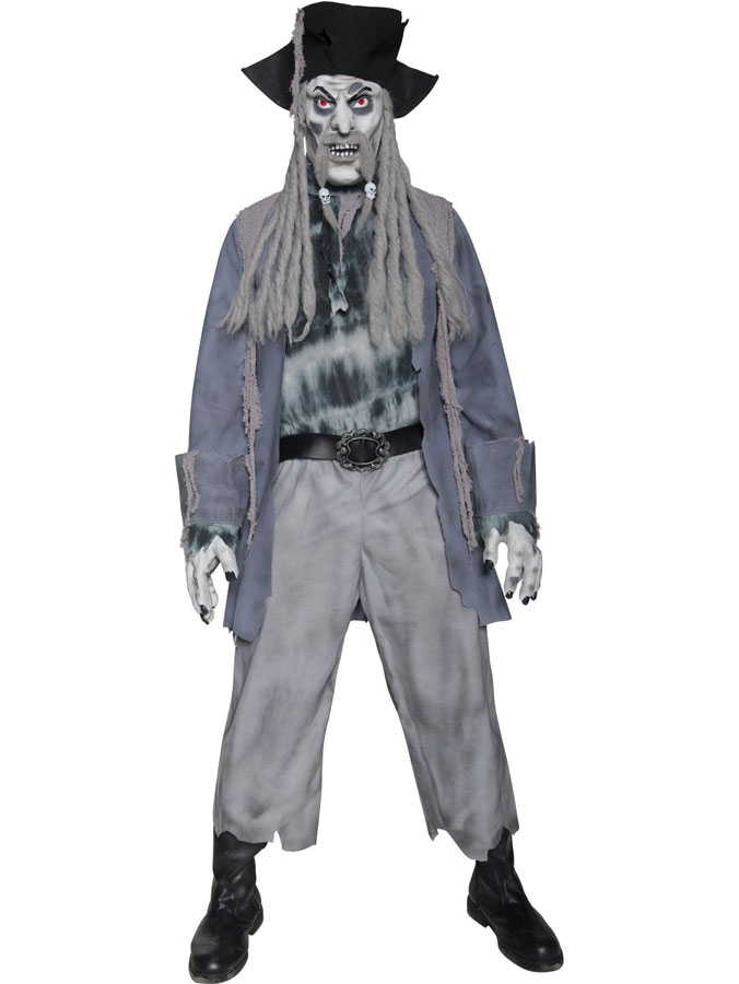 Zombie Pirat Dräkt (Medium)