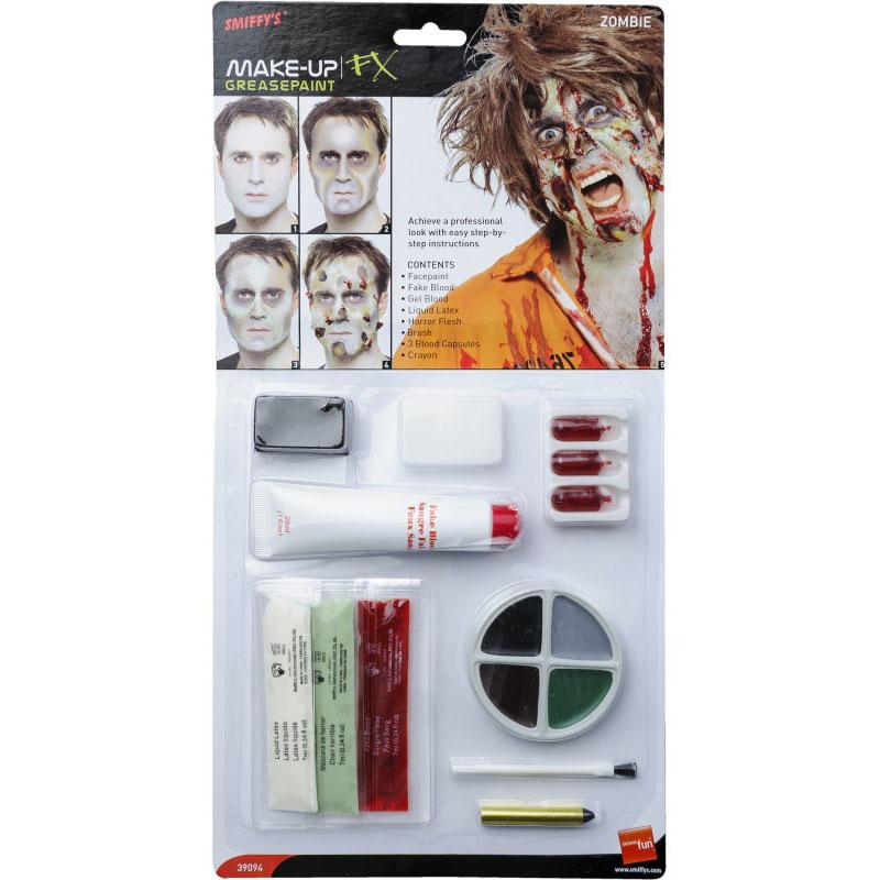 Zombie Sminkset FX-Kit