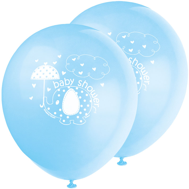 Baby Shower Ballonger Boy Umbrellaphant