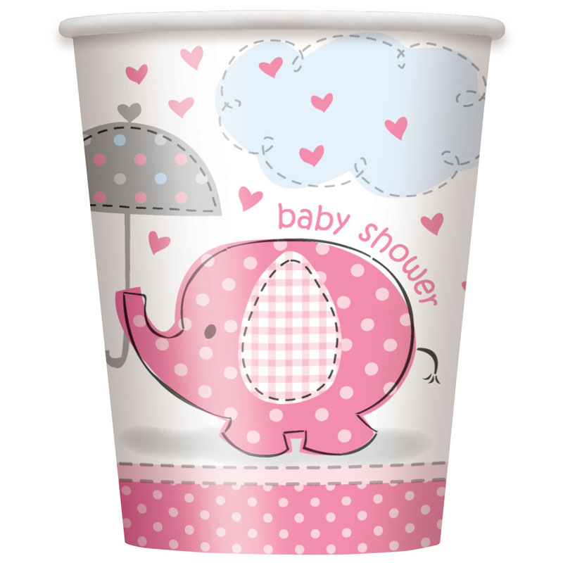 Baby Shower Girl Muggar Umbrellaphant