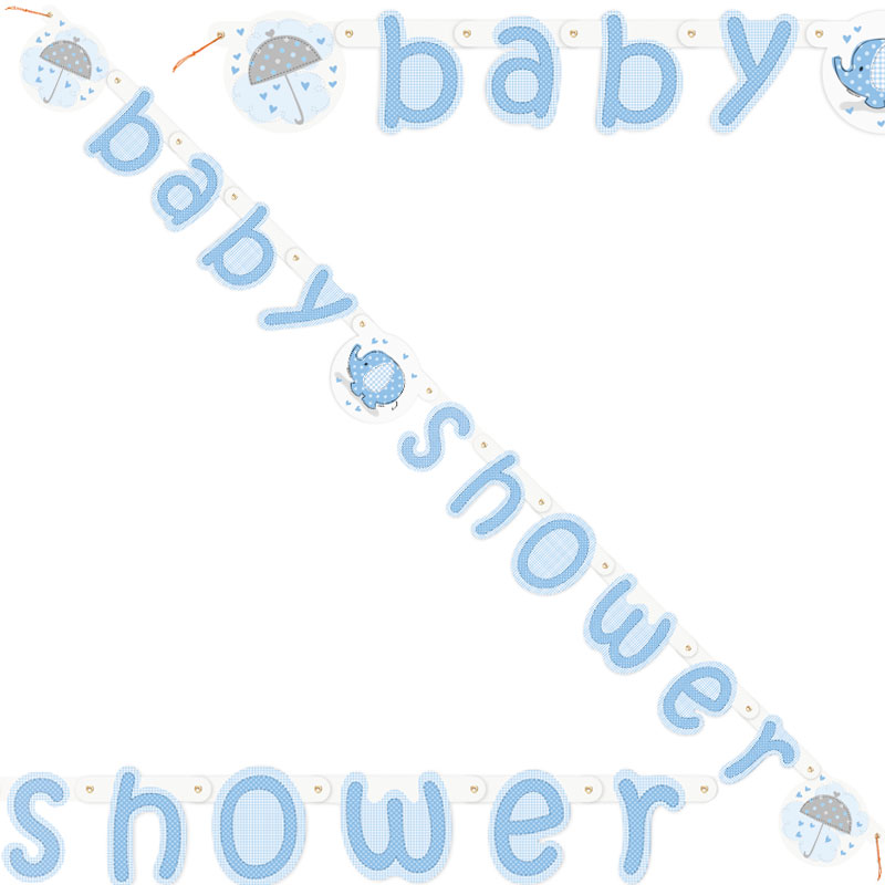 Baby Shower Girlang Boy Umbrellaphant