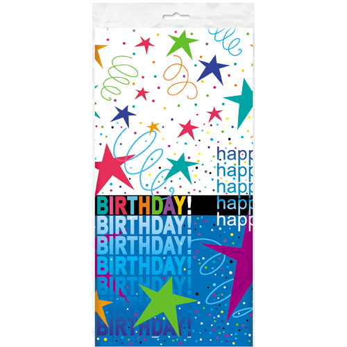 Galaxy Happy Birthday Bordsduk