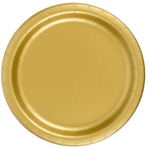 Guld Papptallrikar