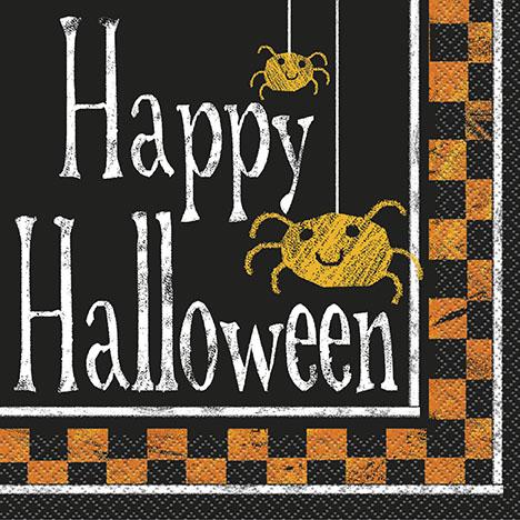 Halloween Boo Servetter
