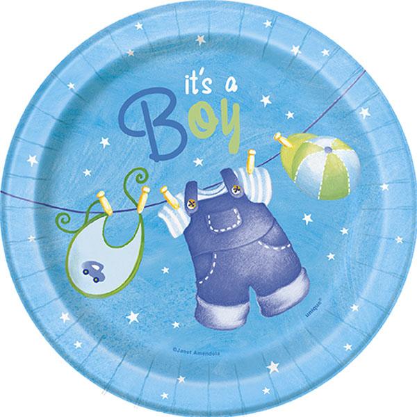 It's a Boy Baby Shower Assietter