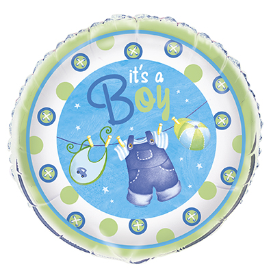 It's a Boy Baby Shower Folieballong