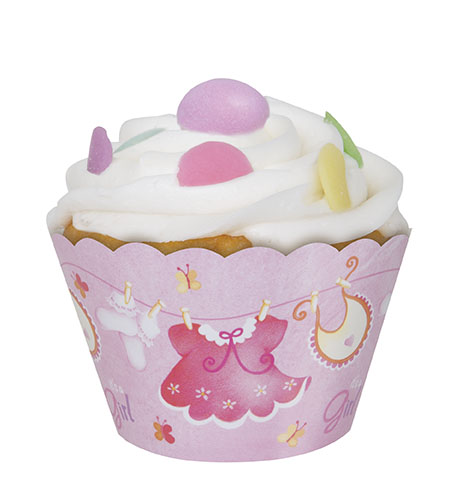 It's a Girl Baby Shower Muffinsformar